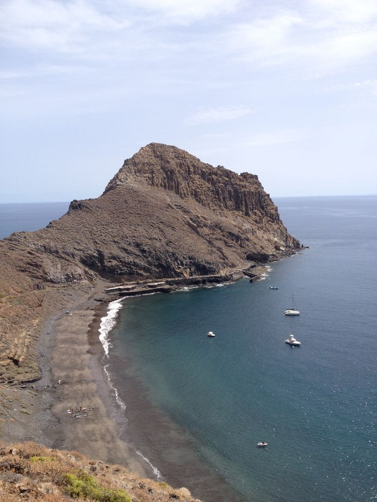 Playa de Antequera,Anaga, Tenerife,  Islas Canarias,  Spain.
