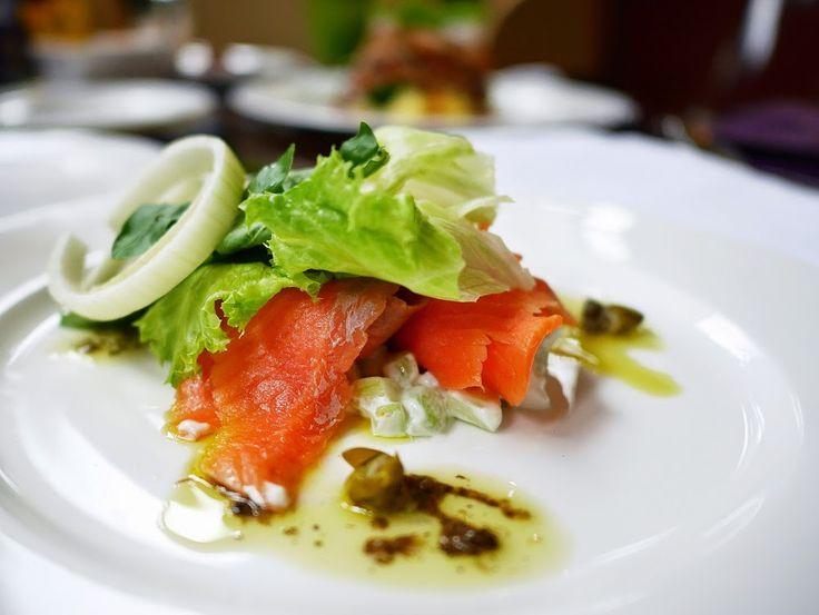 Salmon Salad #HyattRegencyYogya
