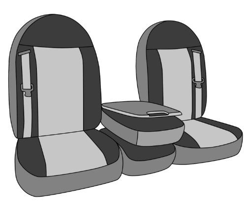 CalTrend Front Row 40/20/40 Split Bench Custom Fit Seat Cover for Select Dodge Models - NeoSupreme (Beige Insert and Black Trim) - https://musclecarheaven.net/?product=caltrend-front-row-402040-split-bench-custom-fit-seat-cover-for-select-dodge-models-neosupreme-beige-insert-and-black-trim