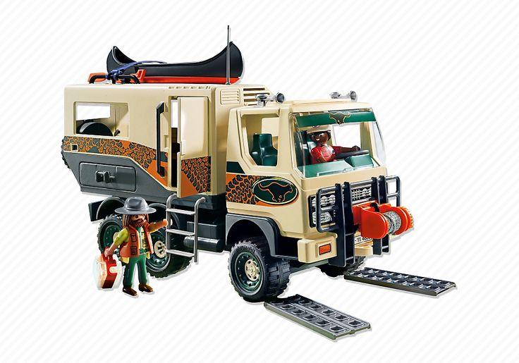 Adventure truck pm usa playmobil usa playmobil party trucks playmobil und recreational - Playmobil camion ...