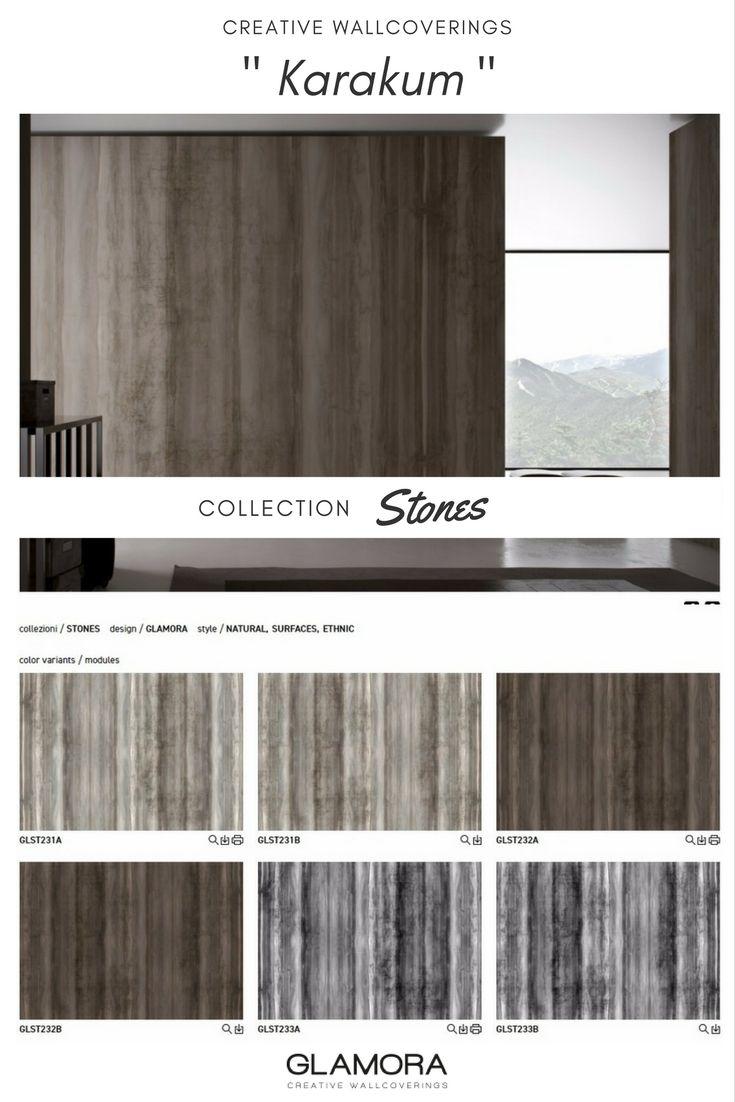 33 migliori immagini stones natural wallcovering carta for Parati in pvc