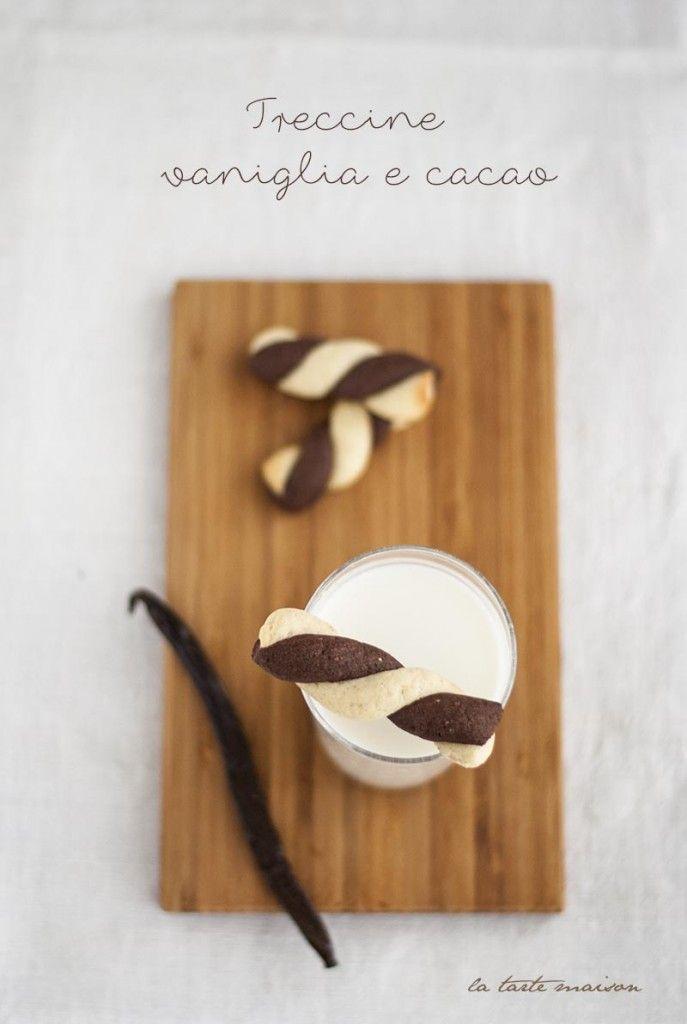 Treccine vaniglia e cacao, profumo di biscotti #1 #cookies #latartemaison