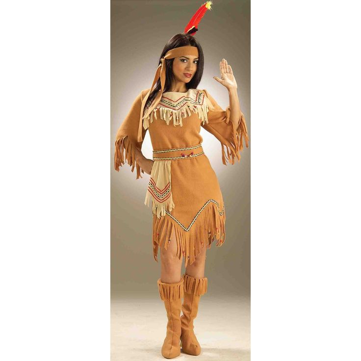how to make a homemade sacagawea costume