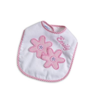 30 best personalized baby gifts images on pinterest personalized we proudly offer the best quality made in the usa baby bibs online this particular personalized baby giftsflower negle Image collections