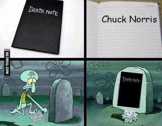 Le Death note s'est attaqué à plus fort que lui...