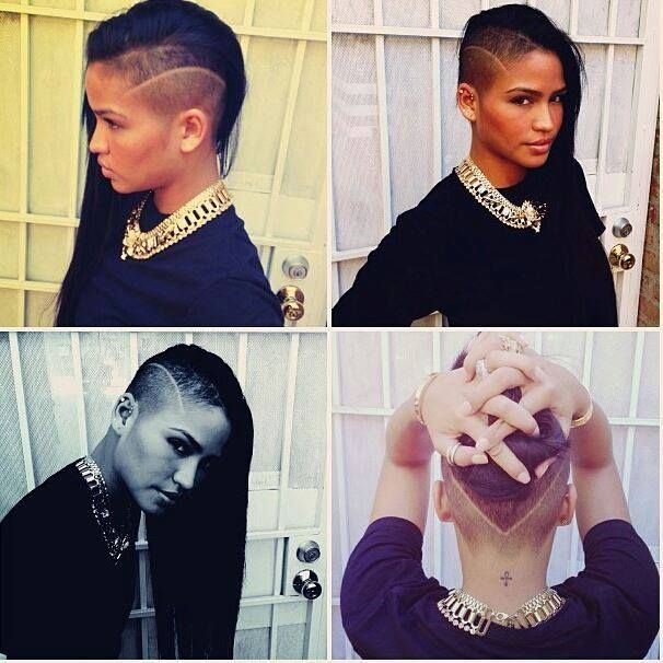And be sure to thank Cassie for reminding us that it's all about the little details. | In Appreciation Of All The Ladies Rocking An Undercut