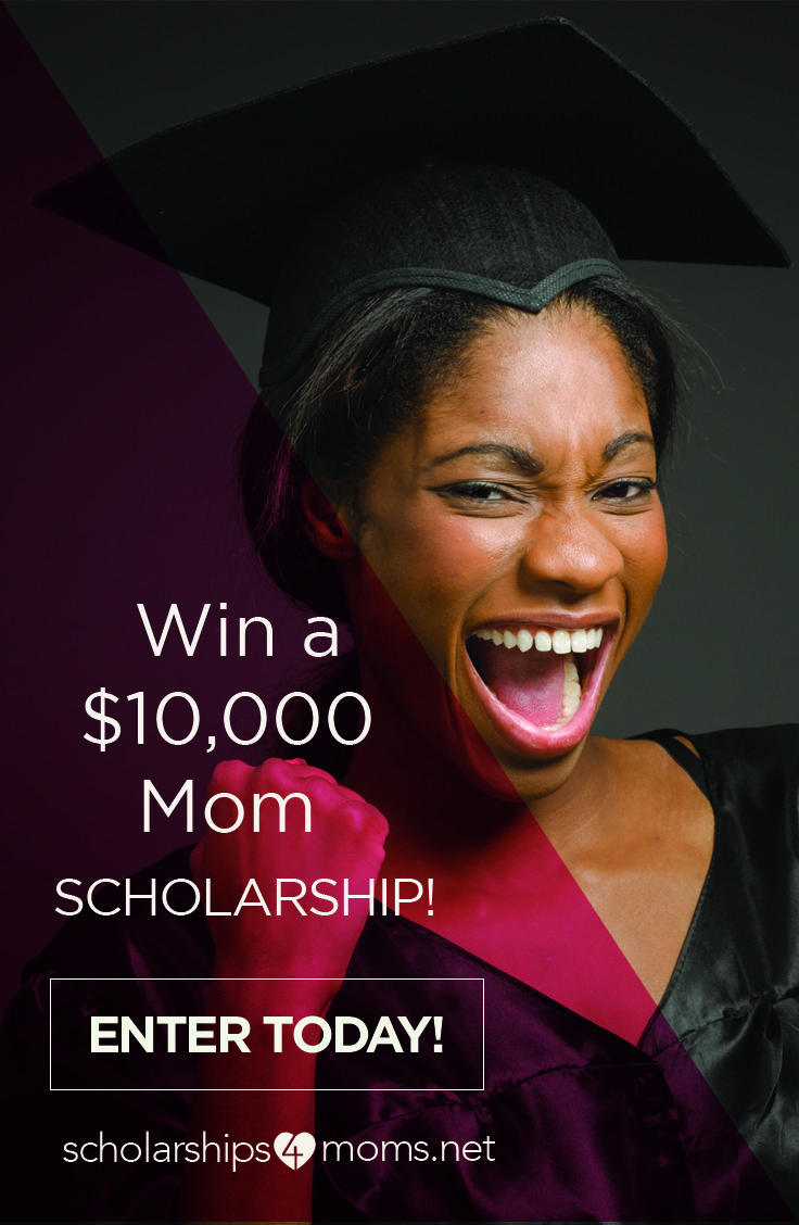 Scholarships4moms is an easy-to-apply scholarship drawing for mothers like you. No essay or GPA required to enter. Enter today for the chance to get the help you need to seize your future!
