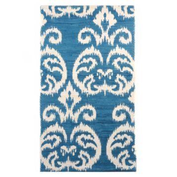 Blue Ikat Scatter Rug At Kirklands Dormroom