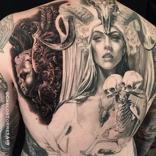 235 best images about carlos torres my favorite tattoo for Black kat tattoo