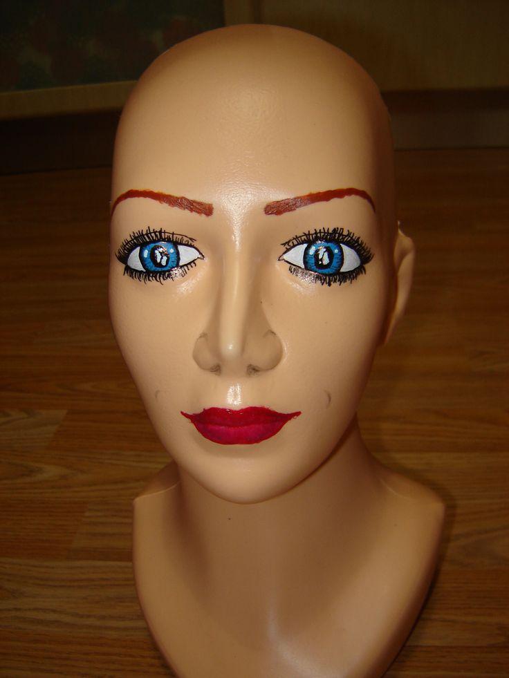 Andulka :-) make-up