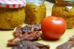 Tomatenpesto gemacht im Thermomix