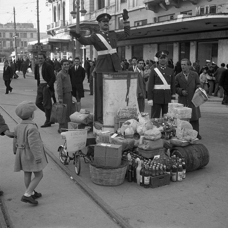 Dimitris Harissiadis, Amalias avenue, Athens 1948 © Benaki Museum Photographic Archive