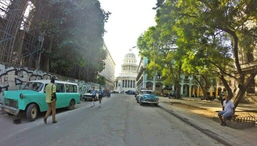 The streets of old Habana