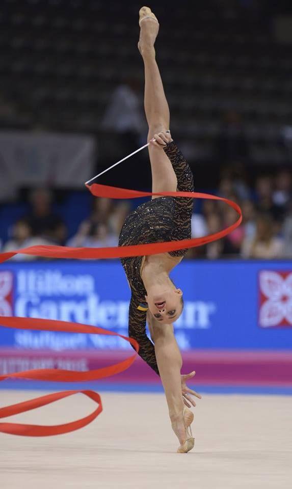 Anna Rizatdinova (Ukraine) #Stuttgart #World Championships 2015