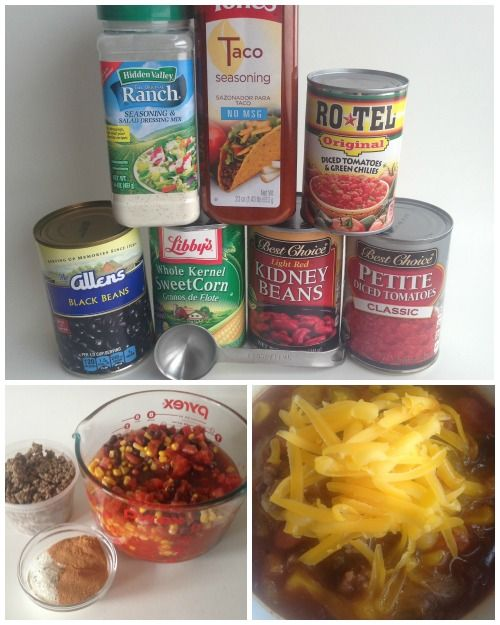 Easy Taco Soup Recipe!