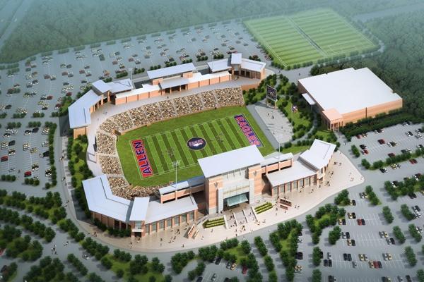 Allen Eagle Stadium in Allen, Texas: Allen Tx, Allen Eagles, Schools 60, Football Stadiums, Allen Texas, Texas High, High Schools Football, Football Allen High Schools, Schools Stadiums