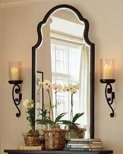 Pottery Barn Bianca Mirror.