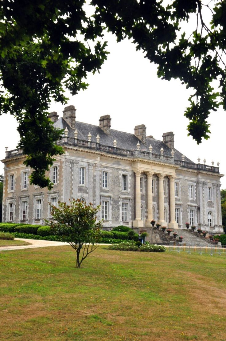 Adam architecture groundbreaking country house in hampshire - Kerl Venan Castle Sarzeau Bretagne By G Historic Architectureclassical Architecturefrench Housescountry