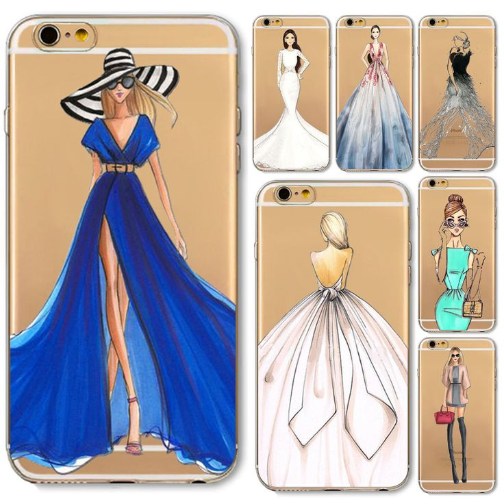 Phone Case For iPhone 6 6s 5 5s SE 6P 6SPlus 7 7plus Girl Design Soft TPU Clear Ultra thin Beautiful Bikini Girl Styles Cover