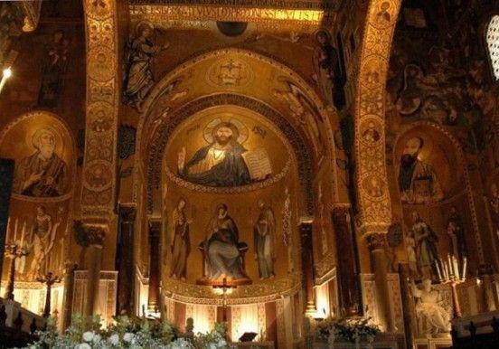 Palermo, mosaici cappella palatina