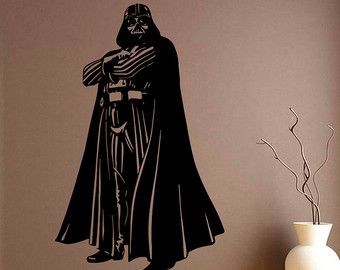 Darth Vader Vinyl Sticker Star Wars Wall Decal Comics Wall Decals Wall Vinyl Decor /14bhj/