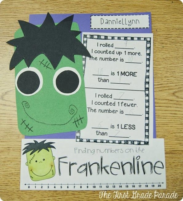 The First Grade Parade, this is so cute halloween math!