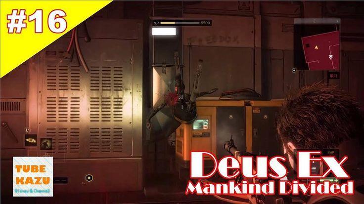 ARC施設に潜入して頑張っております #16 初心者実況 KAZUの Deus Ex Mankind Divided (デウスエクス マンカインドディバイデッド) TUBE KAZU https://youtu.be/ZMesPUPX77M #youtube #ps4 #ps4share #fps #アクションrpg #デウスエクス #ゲーム実況 #tw