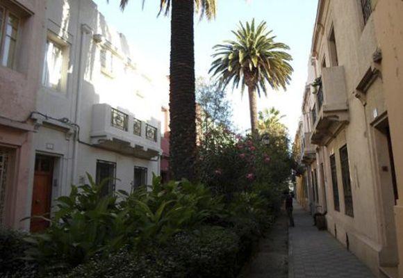 Barrio Patrimonial Yungay | Pasaje Adriana Cousiño