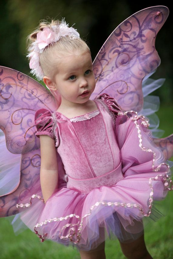 Pink Ballerina Fairy 4 piece Costume set by Ella Dynae, $210.00 #tutu #wings