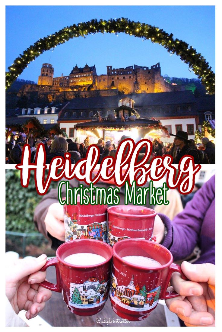 Heidelberg, Germany has Six Christmas Markets in a beautiful, romantic and historic town.