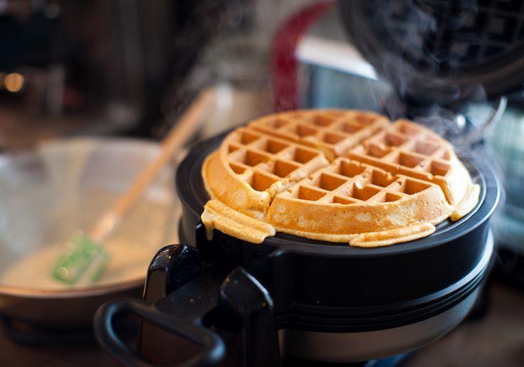 easy homemade waffle mix on simplebites.net