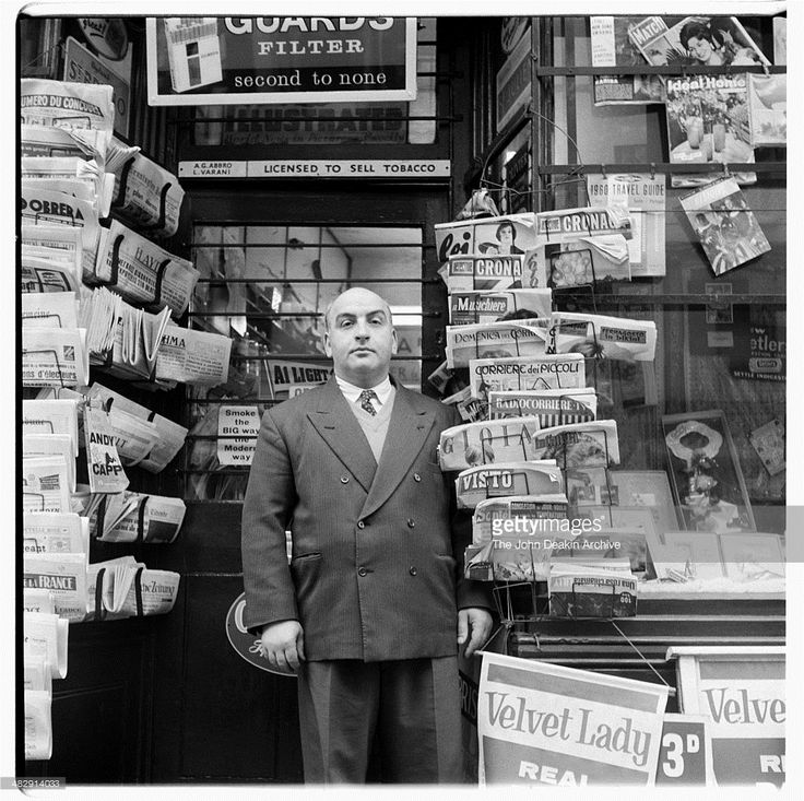 Buying and selling old newspapers