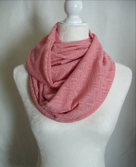Coral Chevron Infinity Scarf #indiesunclothing #handmade #handmadeclothes #handmadeclothesforsale #etsy #etsyseller #etsyshop #scarf #infinityscarf #coralscarf #coralinfinityscarf #coralchevron #coral #pink #pinkscarf #pinkchevron #pinkinfinityscarf #womensfashion #womensstyle #womensaccessories #style #fashion #accessories