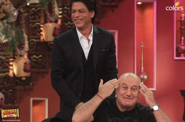 on Comedy Night with Kapil, December 2014  to celebrate 1000 weeks