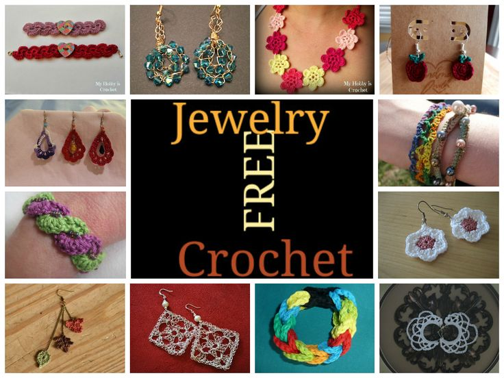 923 Best Crochet Jewelry Images On Pinterest Crochet Accessories