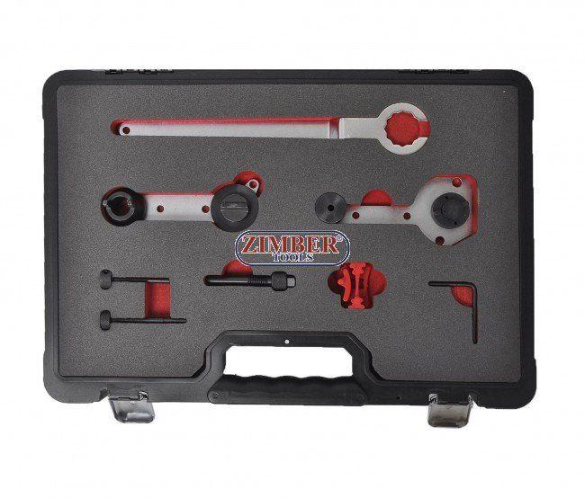 Petrol Engine Setting/Locking Kit- VAG 1.2/1.4 TSi - Belt Drive - ZT-04A2218 - SMANN TOOLS.