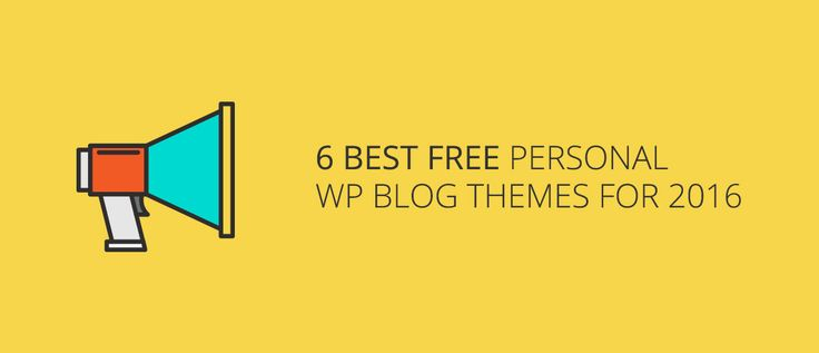 6 Best Free WordPress Blog Themes For 2016