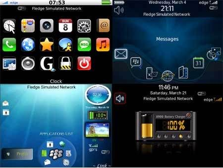 Best and Colourful Blackberry Themes for Girls