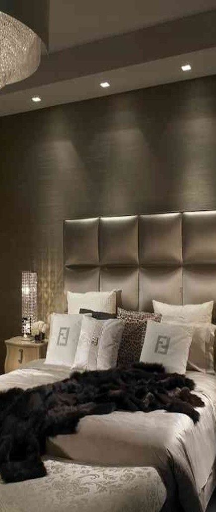 Luxury living bed room in penthouse. - Tuba TANIK