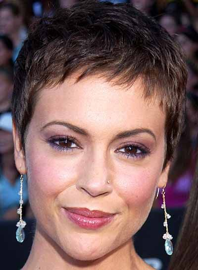 Aug 02, 2003; Los Angeles, CA, USA; Actress ALYSSA MILANO at The Teen Choice Awards, held at Universal Amphitheatre, Universal City. Mandatory Credit: Phot