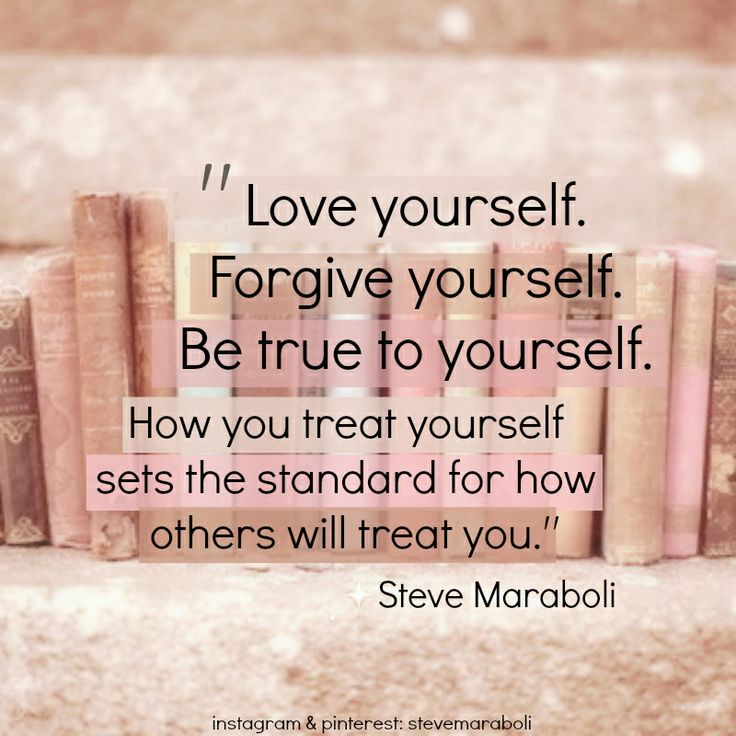 how to treat yourself with love and respect
