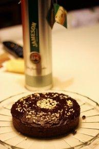 Torta irlandese al cioccolato, caffè e whiskey