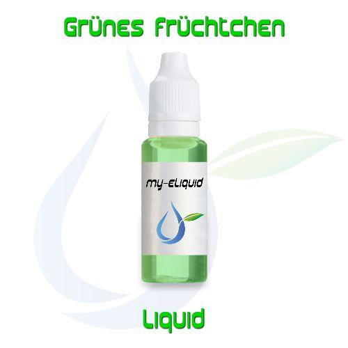 Grünes Früchtchen Liquid | My-eLiquid E-Zigaretten Shop | München Sendling