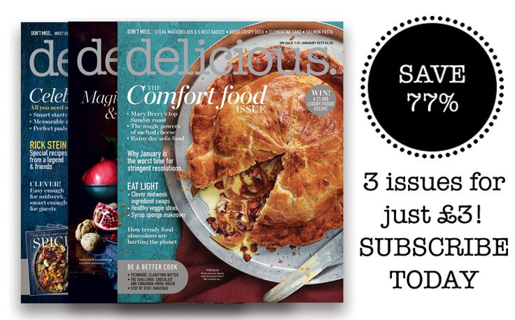 The UK's best food magazine, in print and online, with recipes and techniques, plus stories from the world of food