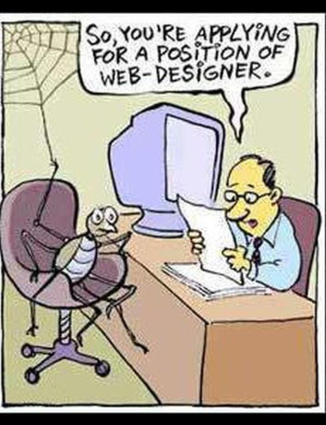 "Haha.. Web humor.. Who doesn't love a Sunday funny?   On a more serious note - Our goal is to align ""YOUR"" business with ""PageDomination's"" resources and tools to automate the process and deliver results… http://pagedomination.com/about-us/"
