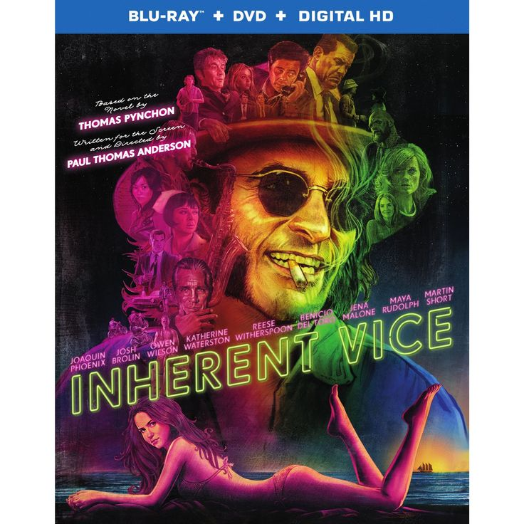Inherent vice 2 discs includes digital copy
