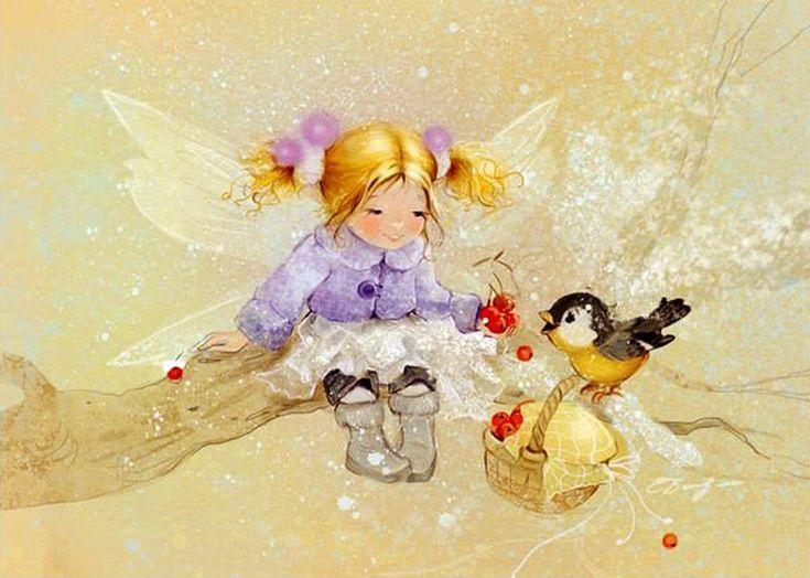 Екатерина Бабок. Зимняя фея.