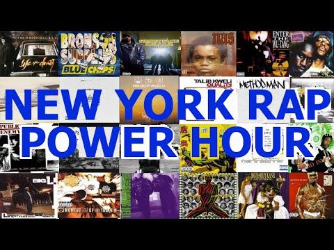 NY Hip Hop Power Hour Drinking Game