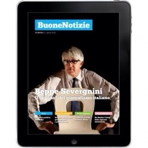 Buone Notizie, la nuova rivista per iPad dedicata solo alle notizie positive!