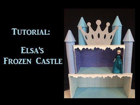 Como Hacer un Castillo para Elsa de Frozen - How to make Elsa Castle
